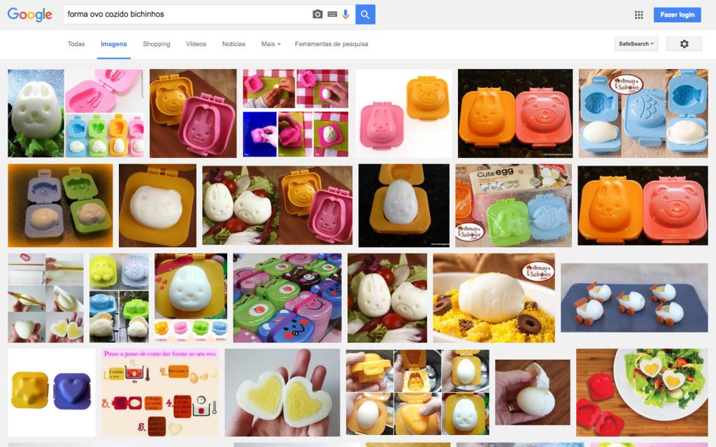 Imagens de formas de ovo cozido engraçadinhas