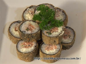 Sushi Hot Roll (Hot Philadelphia ou Hot Filadélfia)