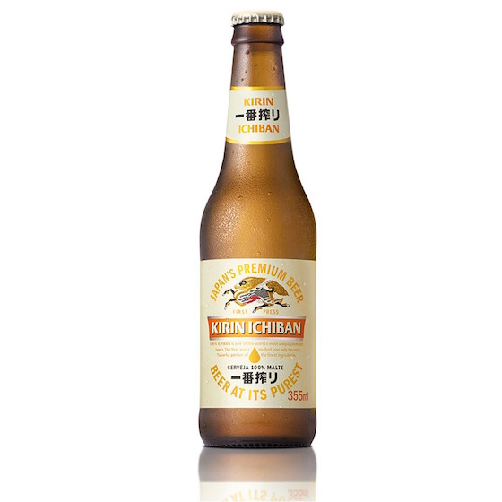 Cerveja japonesa Kirin Ichiban Shibori