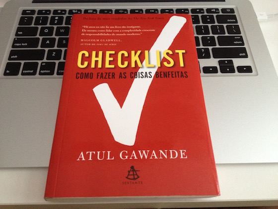 Livro Checklist - Como fazer as coisas benfeitas