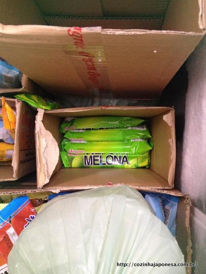 Sorvete Melona (uma delícia!)