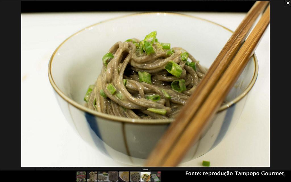 Salada de soba (por Tampopo Gourmet)
