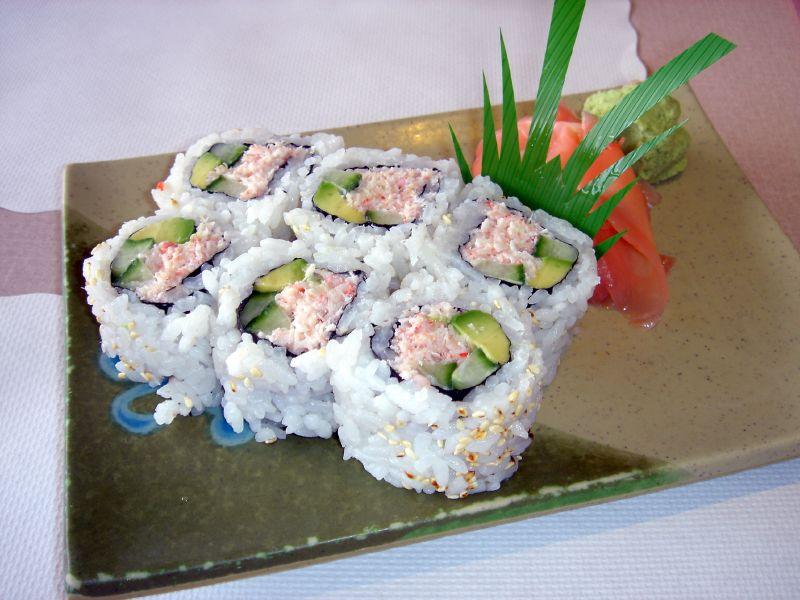 """California roll, o """"kawari zushi"""" mais famoso do mundo"""