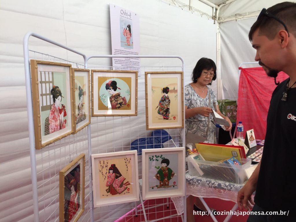 A técnica oshi-ê para confecção de quadros decorativos