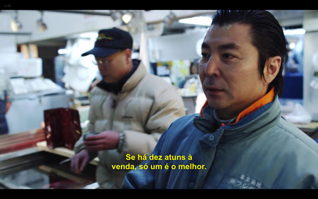 Cena de Jiro Dreams of Sushi: o fornecedor de atum explica seu padrão de qualidade