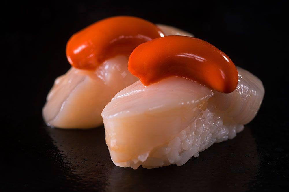Sushi de Vieiras - Restaurante Ten Kai